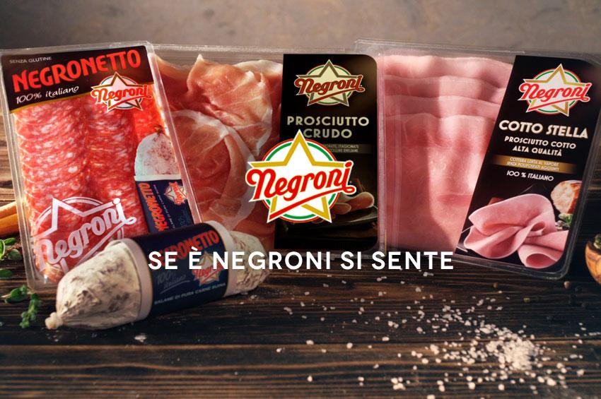 Nuovo Spot Negroni 2016
