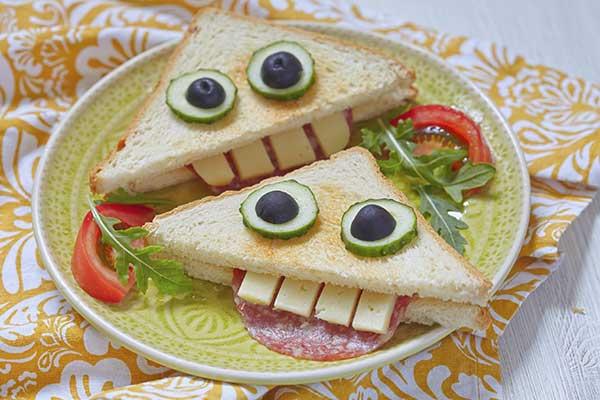 Ricette per bambini 5 panini divertenti e buonissimi for Ricette bambini