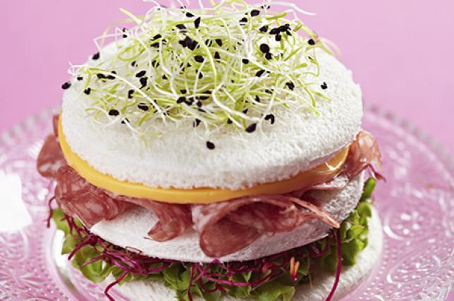 Tramezzino club sandwich