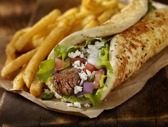 Pita greca, il panino mediterraneo