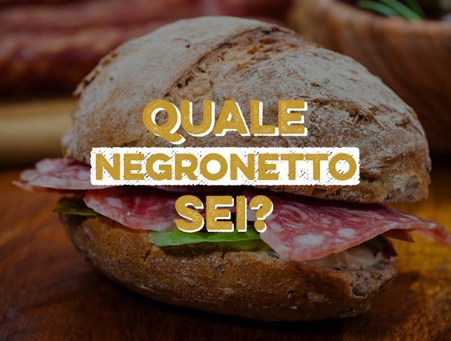 Il test Negronetto
