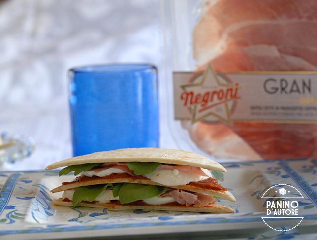 Piadina Club Sandwich