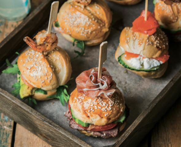 Al coltello: i panini gourmet di Bari menu