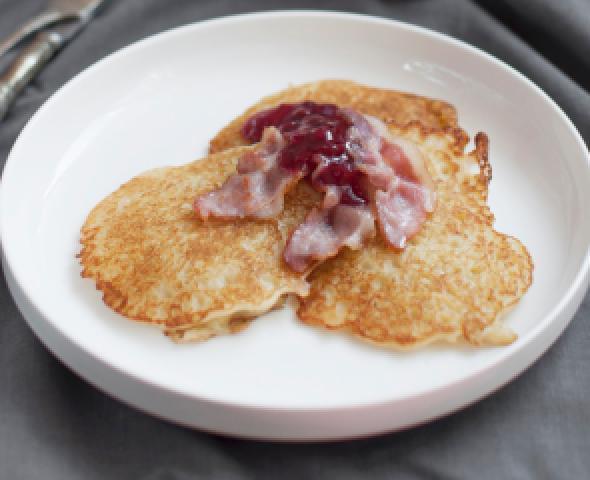 Pancake salati, la ricetta