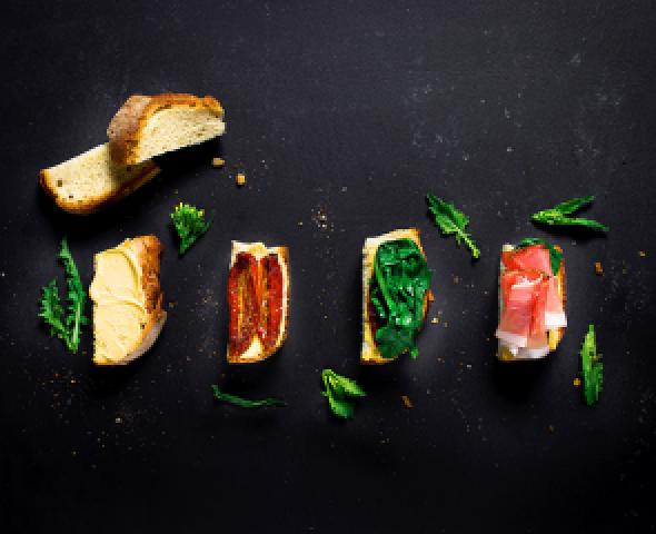Che Piani Hai, Panino con speck e pomodori secchi
