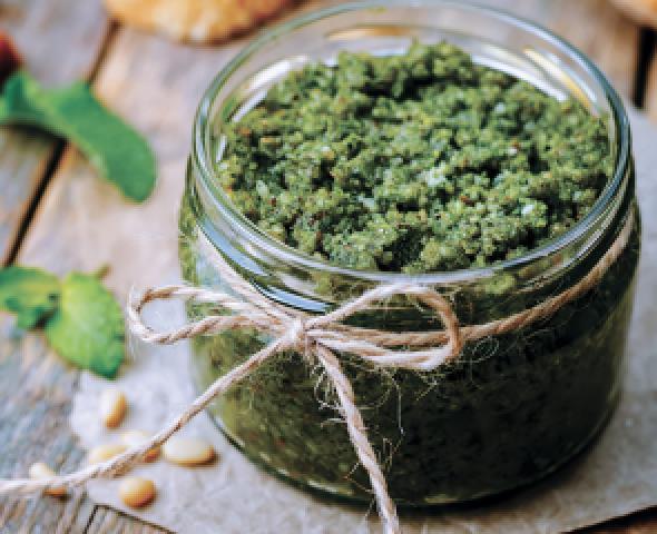 Salsa verde senza uova