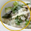 risotto pancetta asparagi ricetta