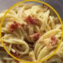 Piatto di spaghetti alla gricia