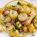 Insalata di patate e lardo