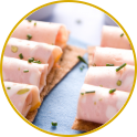 Mortadella rolls, the easy recipe