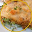 Auberginen-Kochschinken-Lasagne mit Bratwurst