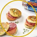 Pancake salati alle erbe aromatiche e Negronetto
