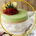 Cheesecake agli asparagi, bresaola e cialde di parmigiano