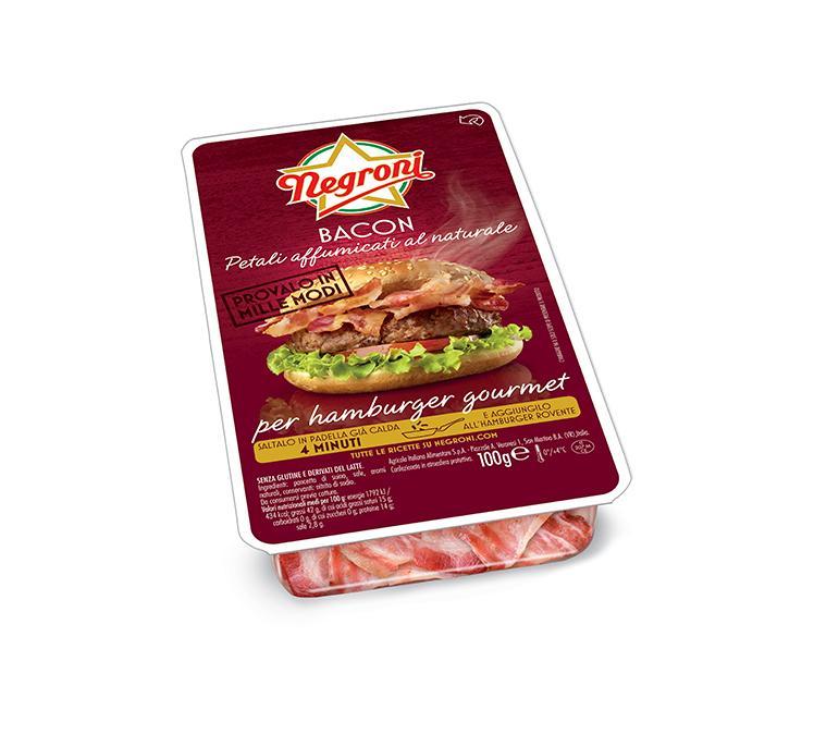 Petali di Bacon Hamburger