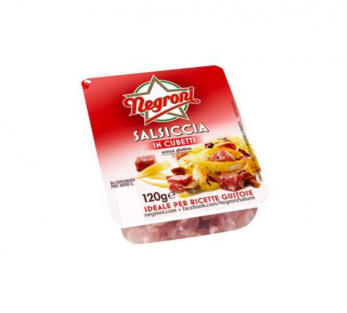 Cubetti di salsiccia