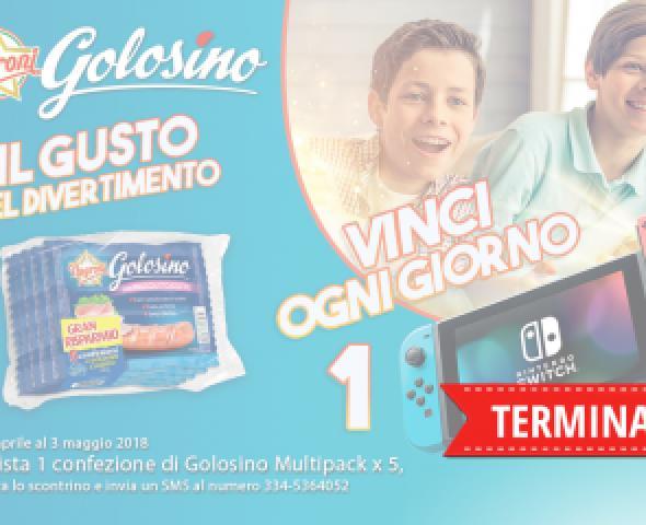 Con Golosino Negroni, vinci 10 Nintendo Switch