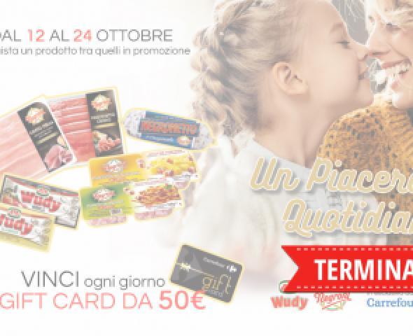 Acquista i prodotti Negroni e vinci 5 gift card ogni giorno