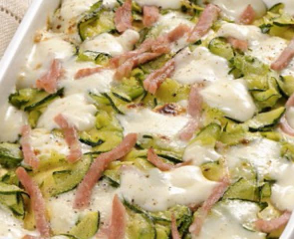 Terrine de légumes au jambon cuit