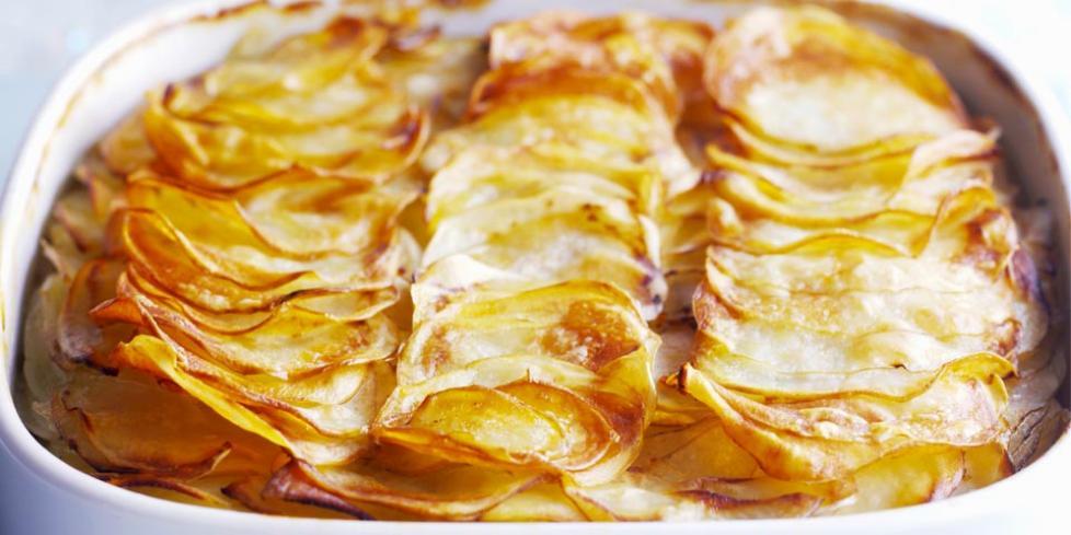Gateau patate pancetta