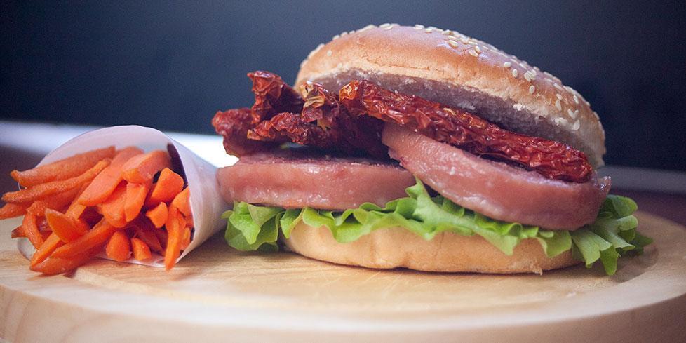 Hamburger di zampone