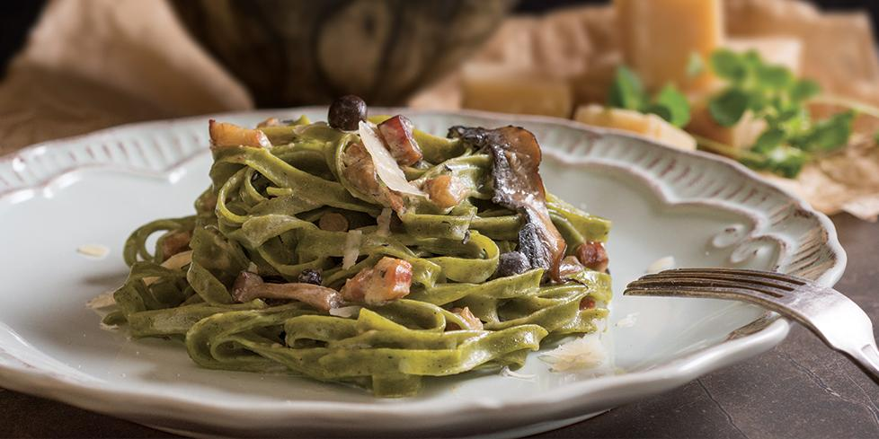 Pasta al pesto di spinaci, ricetta