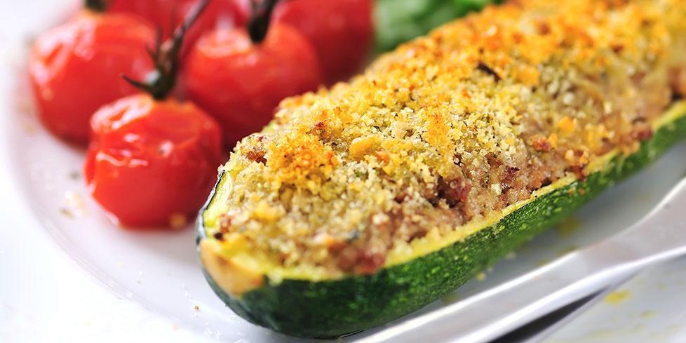 Zucchine Ripiene Di Mortadella E Formaggio Negroni