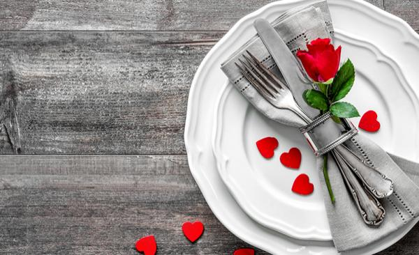 Menu di San Valentino, la cena romantica light