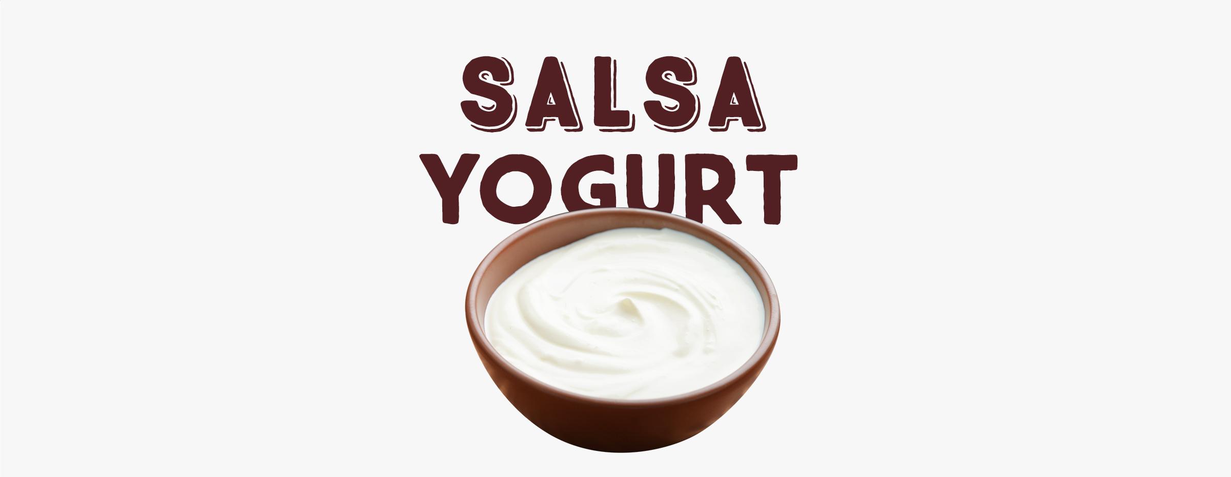 Salsa yogurt