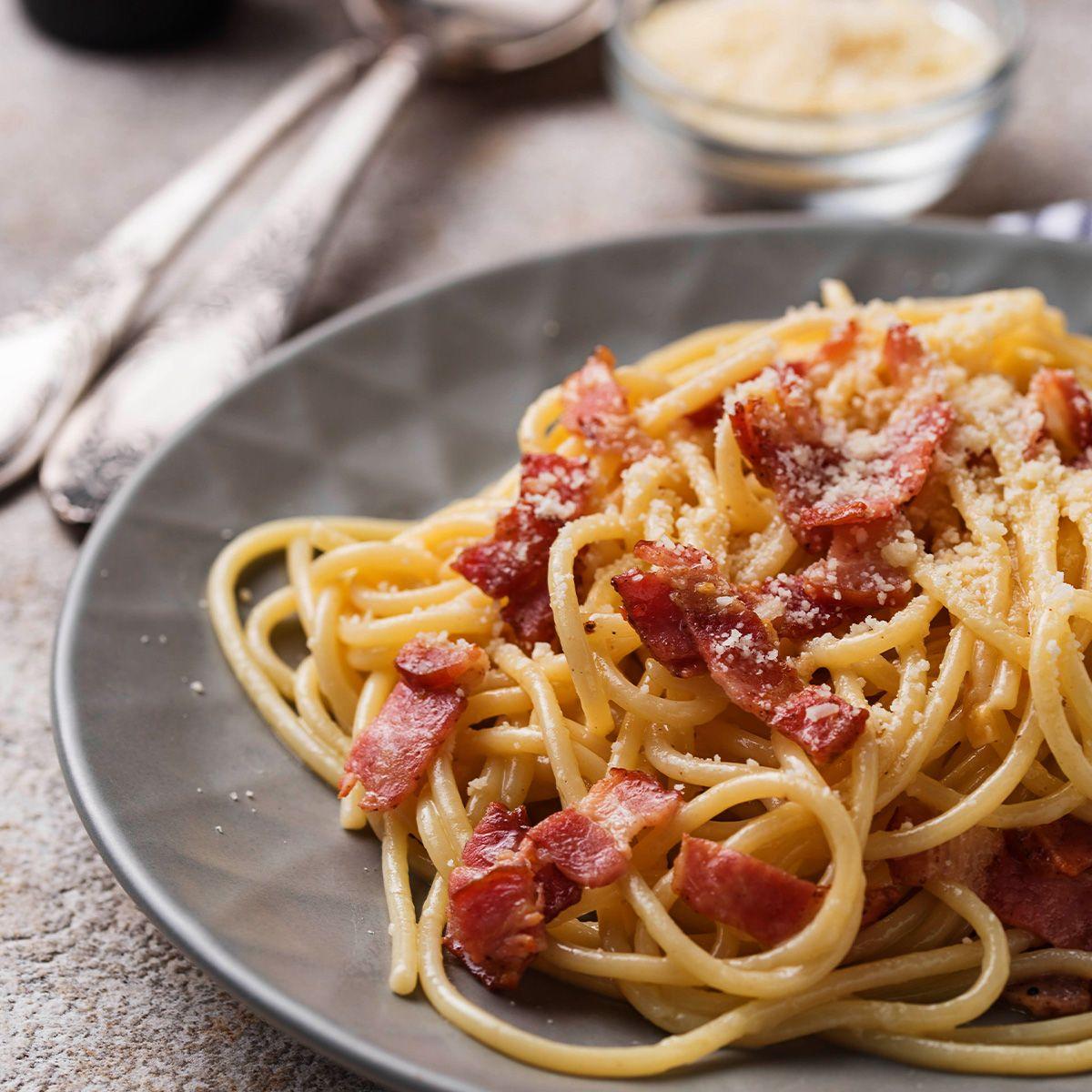 Carbonara con il bacon la ricetta speciale