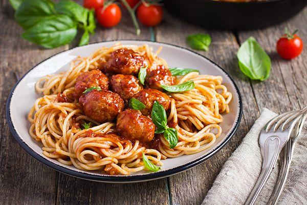 spaghett con le polpette