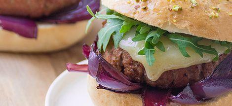 Mortadella burger