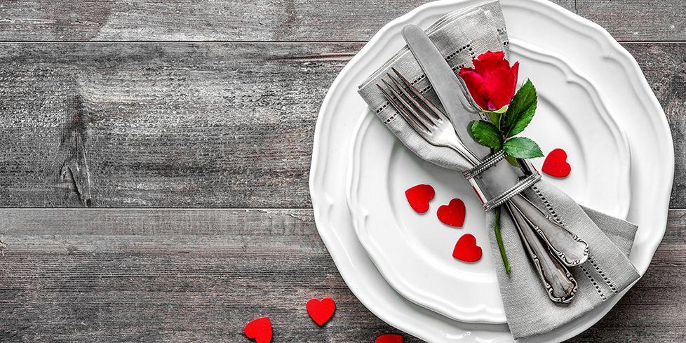Menu di San Valentino, la cena romantica light