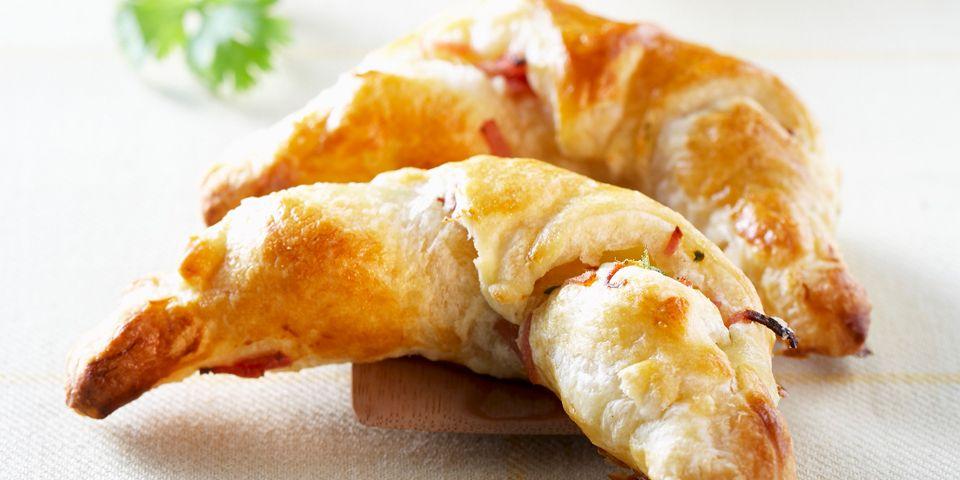 Savory croissants with Culatello di Zibello PDO
