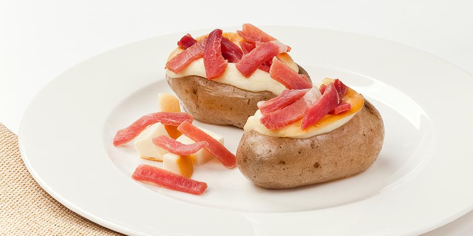patate ripiene con prosciutto