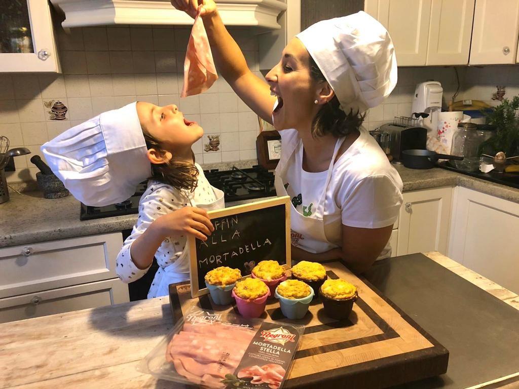 Muffin alla Mortadella di Erica Liverani