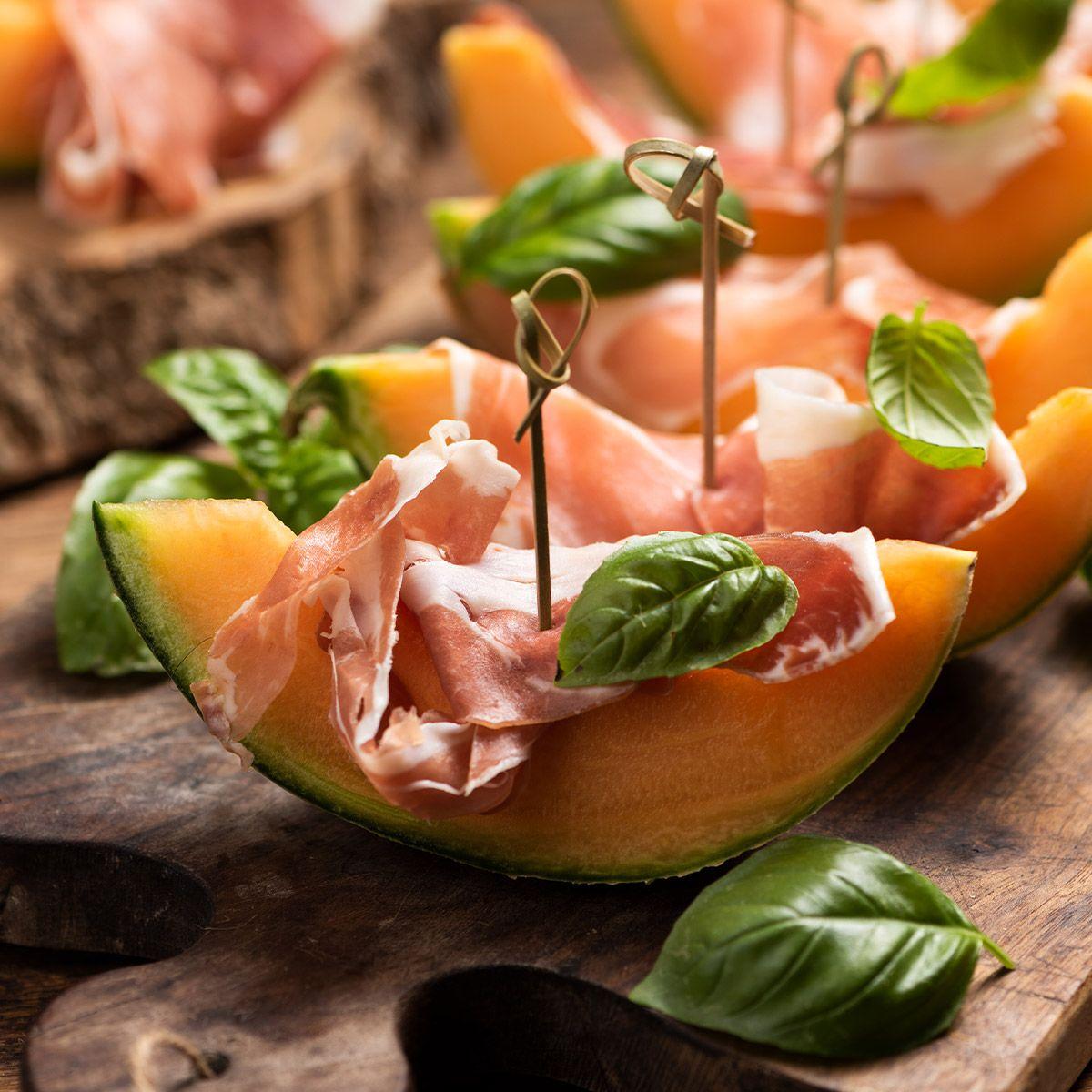 Prosciutto e melone, il panino dell'estate
