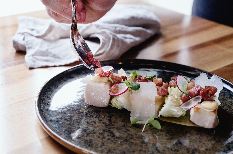 Caesar Salad alla carbonara