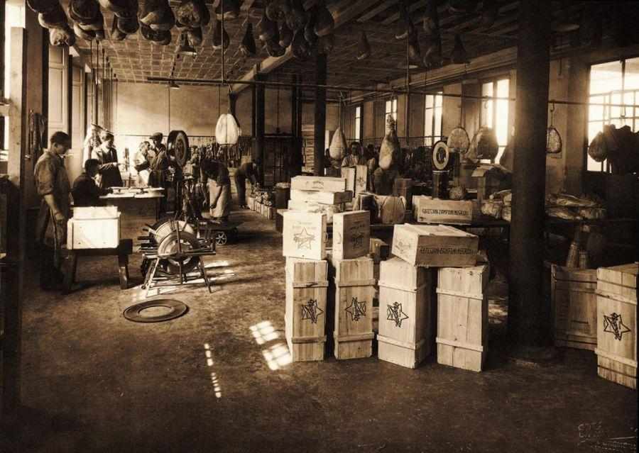 Il primo stabilimento Negroni a Cremona